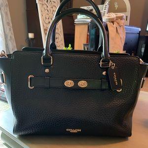EUC authentic Coach satchel